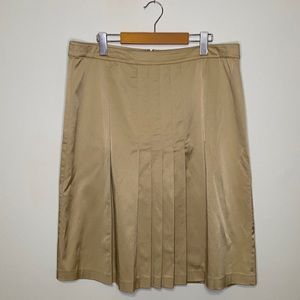 St. John Collection Pleated Front Skirt